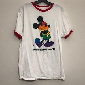 Rainbow Mickey Mouse Shirt
